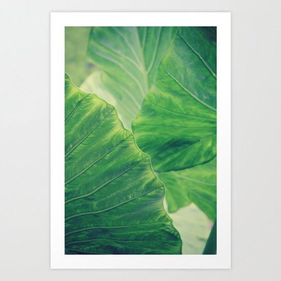 Defining Edges 2 Art Print