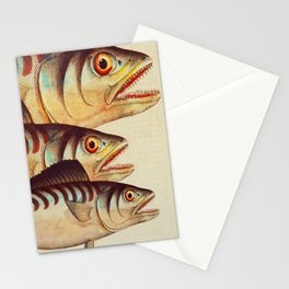 Fish Classic Designs 8 Stationery Cards