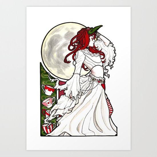 Emilie Nouveau Art Print