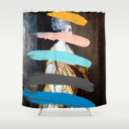 Composition 736 Shower Curtain