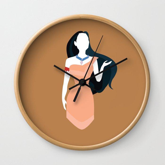 Pocahontas Disney Princess Wall Clock