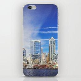 Seattle Skyline iPhone Skin