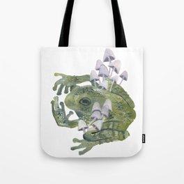 frog & mushrooms Tote Bag