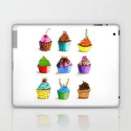 Illustration of tasty cupcakes Laptop & iPad Skin