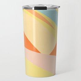 The Dunes - Abstract Landscape Travel Mug