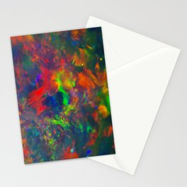 Black Opal from Lighting ridge  Stationery Cards