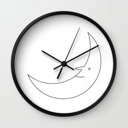 Mr. Moon Wall Clock