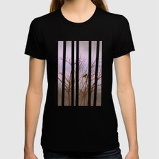 driving through the fog X-LARGE Black Womens Fitted Tee