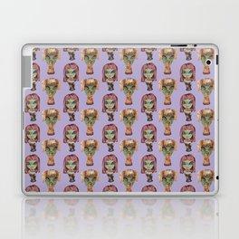alien girls fast-food Laptop & iPad Skin