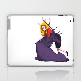 Bedelia and the Raven Stag Laptop & iPad Skin