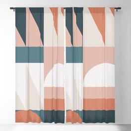 Cirque 05 Abstract Geometric Blackout Curtain
