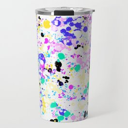 Abstract,splash pattern Travel Mug