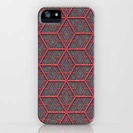 Gridlines iPhone Case