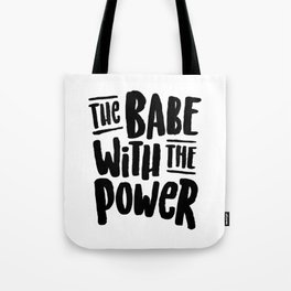 Labyrinth // The babe with the power Tote Bag