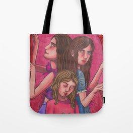 Clock Sisters (Moirai) Tote Bag