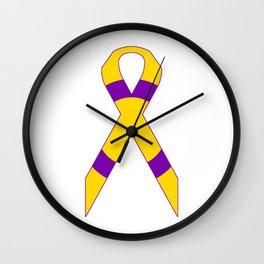 Intersex Ribbon v2 Wall Clock