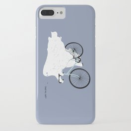 Negative Ghostrider. iPhone Case