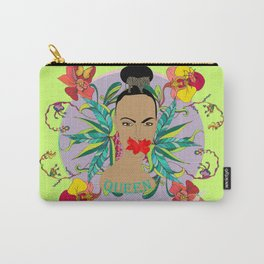 """Floral Queen"" Carry-All Pouch"