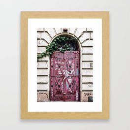 Special Edition Krakow - Tagged Framed Art Print