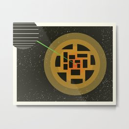 Exploding Planet Metal Print