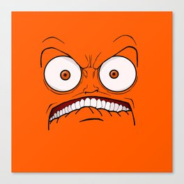Emotional Hateful Tuesday - by Rui Guerreiro Canvas Print
