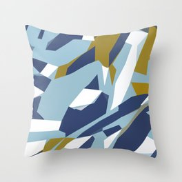 Hastings Navy Throw Pillow