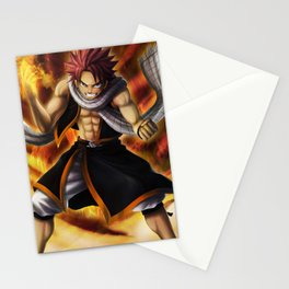 Natsu Dragneel Stationery Cards