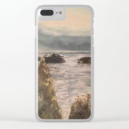 Looking Outward Clear iPhone Case