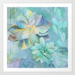Montrose Molly Garden Art Print