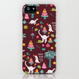 Jellosaurus Rex: Jello Dino Party iPhone Case