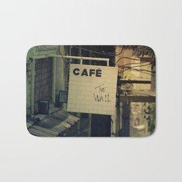 Cafe The Wall Bath Mat