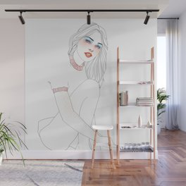 Summer babe Wall Mural