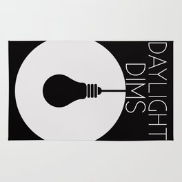 Daylight Dims Logo Rug