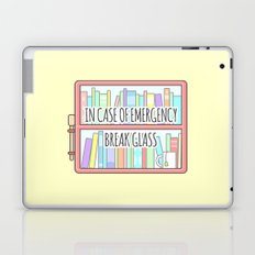 Emergency Bookshelf Laptop & iPad Skin
