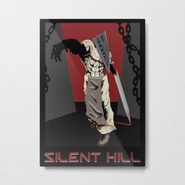 Silent Hill Propoganda Metal Print