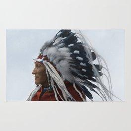 Lazy Boy - Blackfoot Indian Chief Rug