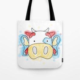La Vaca Mariposa Tote Bag