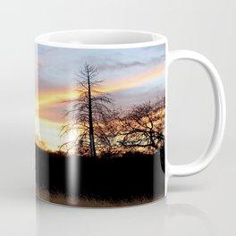 Fire in the sky. Coffee Mug