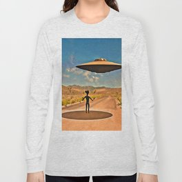Welcome to Area 51 Long Sleeve T-shirt