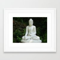 buddah Framed Art Prints featuring buddah by Angel Photography NYC (Nicole Coletti)