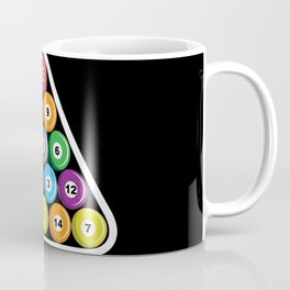 Billiards Pool Hall Sport Balls T-Shirts Coffee Mug
