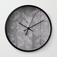 victorian Wall Clocks featuring Victorian by Mister Abigail
