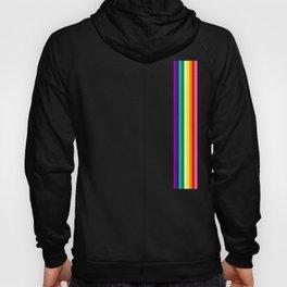 Gay Pride LGBT Subtle Rainbow Stripe Flag 2018 LoveFest Hoody