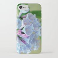 virginia iPhone & iPod Cases featuring Virginia Bluebells by JoLynne