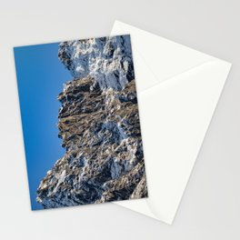 Fresh Snow-Alaskan Mountain Top Stationery Cards