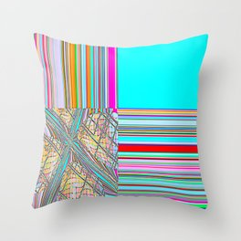 Re-Created Southern Cross XIX by Robert S. Lee Throw Pillow
