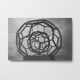 Hexasphere Metal Print