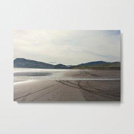 Alaskan Beach Metal Print