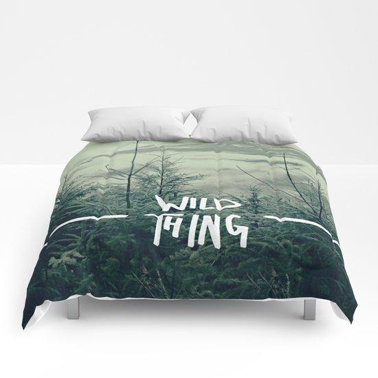 Wild Thing: Skagit Valley, Washington Comforters
