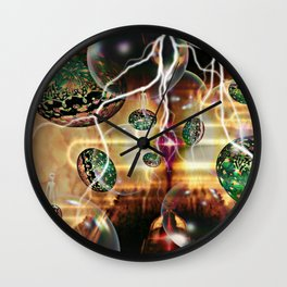 Alien Dreams Wall Clock